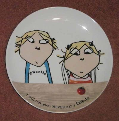 Charlie and Lola plate