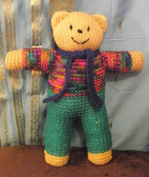 Thoughts from the Bus Stop: Knitting for UK charity: Teddies for ...