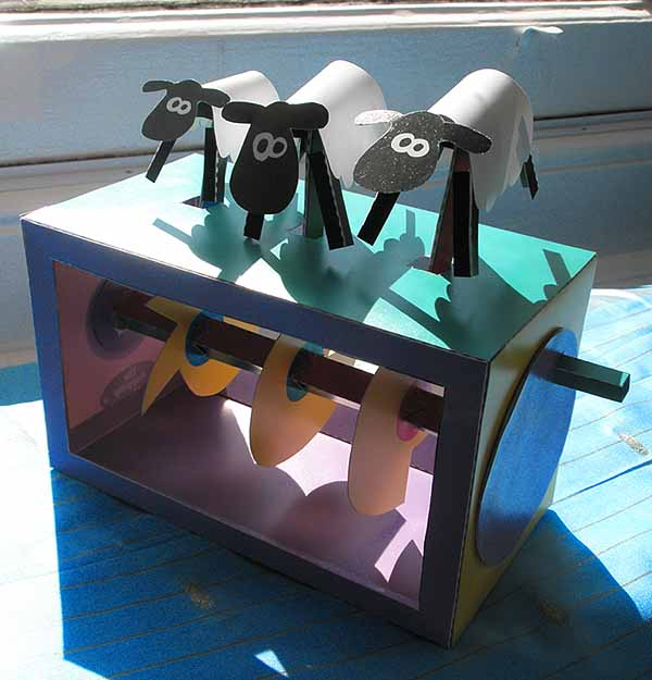 Sheep-automaton