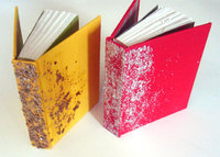 Red and Yellow Hardcover Books, Altered. © Dennis Yuen 2005.
