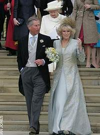 Prince Charles and the Duchess of Cornwall at their marriage blessing. Photo: Ian Jones via the Telegraph