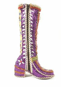 Handsworth 2000 Carnival Queen Costume - Boot
