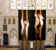 'Hosts' by Martin Reiser installed at Bath Abbey, 2006
