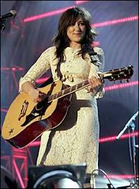 KT Tunstall performing at the 2005 Mercury Music Prize (PA)
