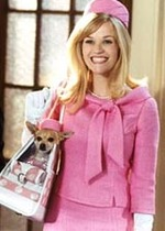 Reese Witherspoon as Elle Woods in 'Legally Blonde'