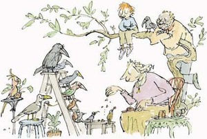 From The Kershaw Pictures by Quentin Blake, part of the Nightingale Project