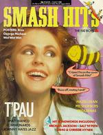 1988 Smash Hits magazine cover,  featuring Carol Decker of T'Pau, via www.tpau.org