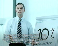 Still from Bartle Bogle Hegarty's Brainstorm ad for Barclays, 2005